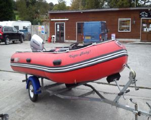 Excel 4.3m  Inflatable Boat For Sale